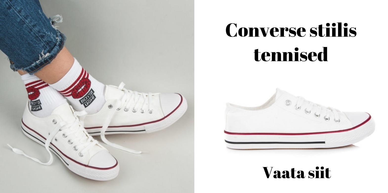Converse tennised